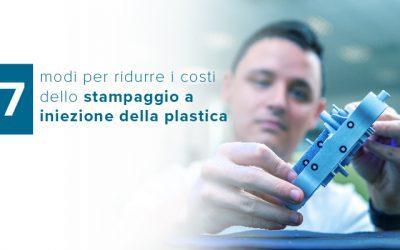 7 modi per ridurre i costi dello stampaggio a iniezione della plastica